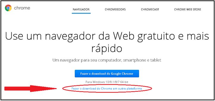 Sau sistema de atendimento ao usurio e2 ser aberta a tela fazer o download do google chrome no campo donwload par aoutros sistema operacional em desktop clique na opo na opo stopboris Images